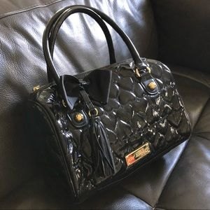 Betsey Johnson Be Mine Quilted Heart Bag
